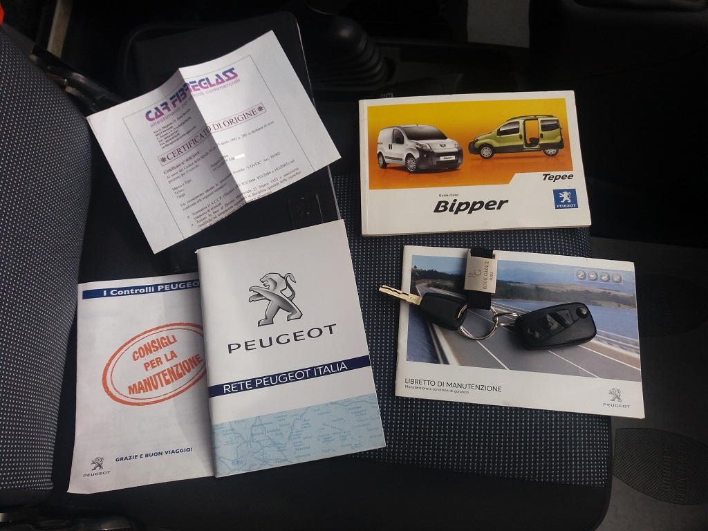 Peugeot Bipper 1.4 HDi 70 cv Furgone Coibentato (21)