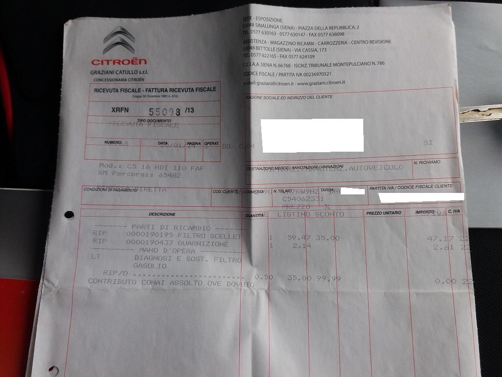 Citroen C5 1.6 HDi 110 Tourer (39)