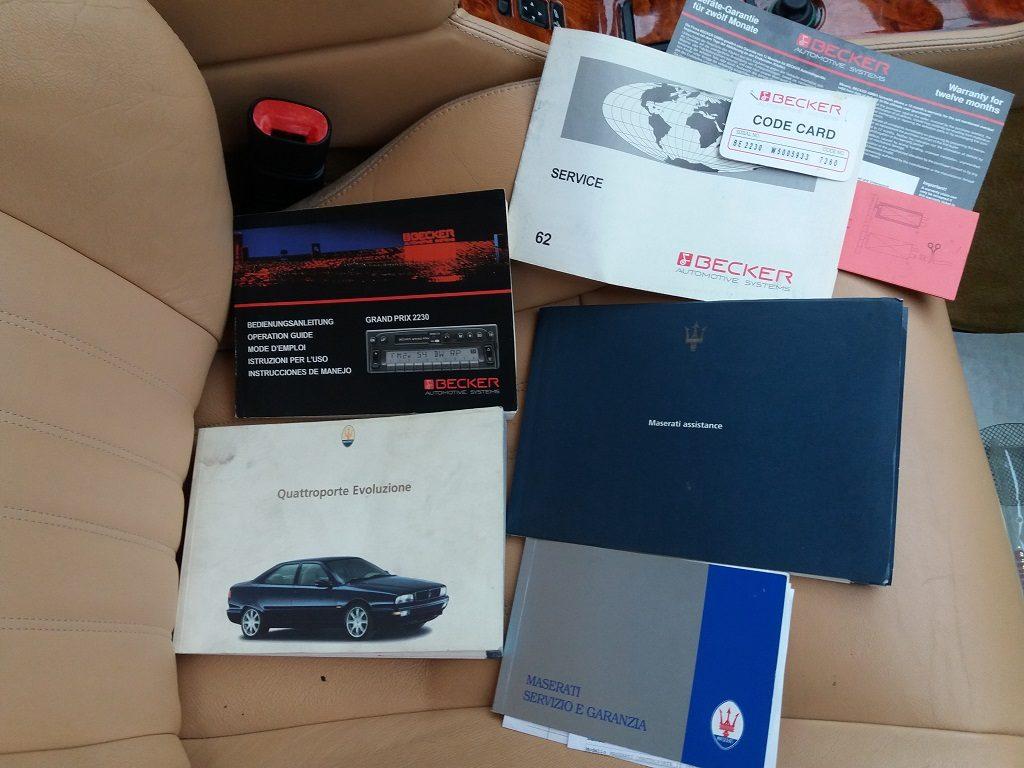 Maserati Quattroporte 2.8i V6 cat Evoluzione (80)