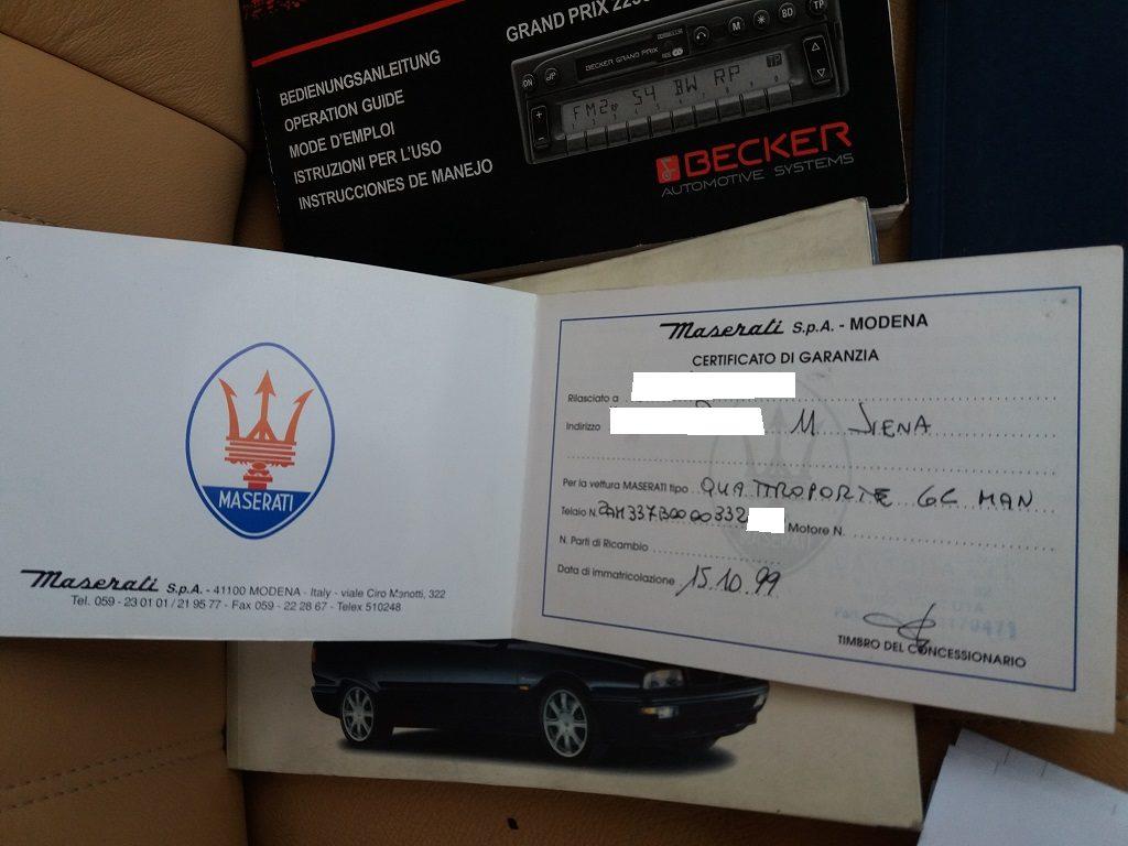 Maserati Quattroporte 2.8i V6 cat Evoluzione (81)