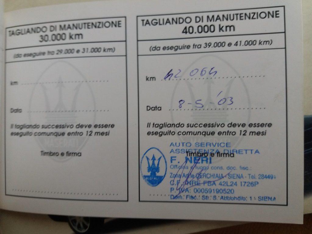 Maserati Quattroporte 2.8i V6 cat Evoluzione (84)