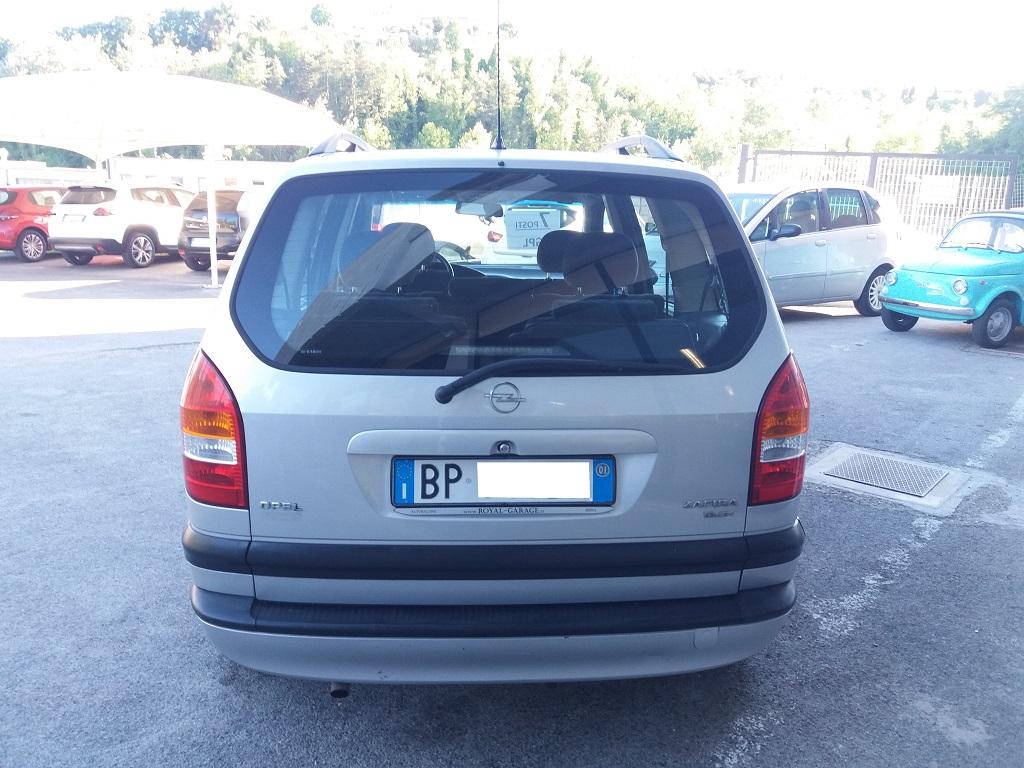 Opel Zafira 1.8 16v cat CDX GPL (4)
