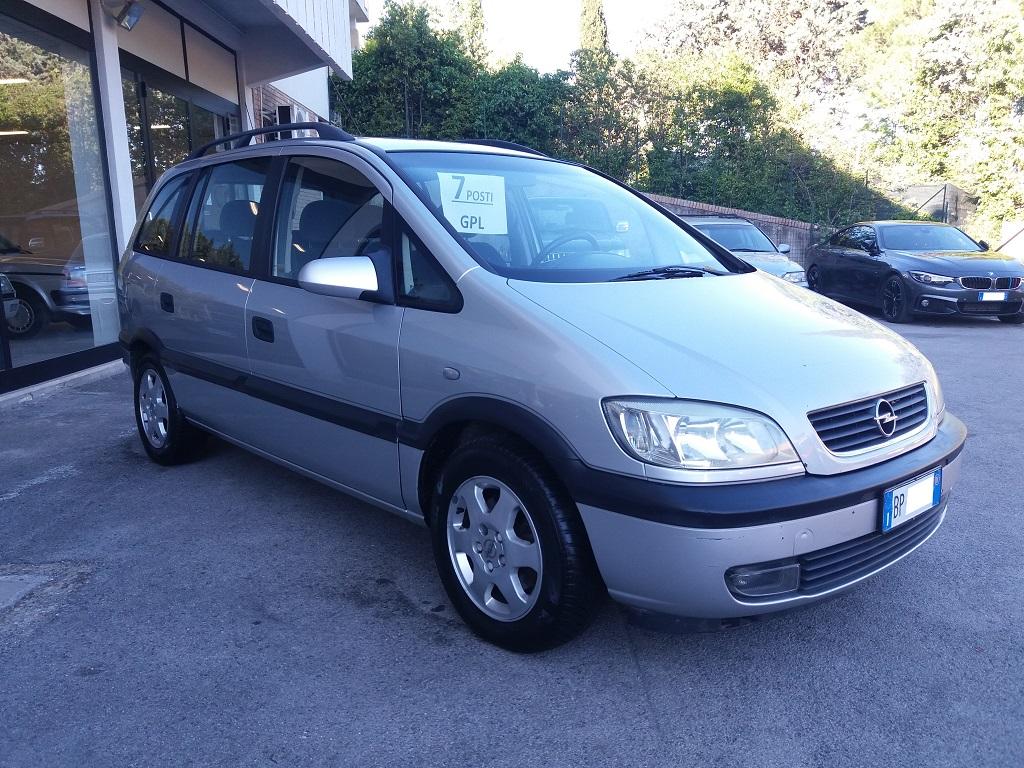 Opel Zafira 1.8 16v cat CDX GPL (7)