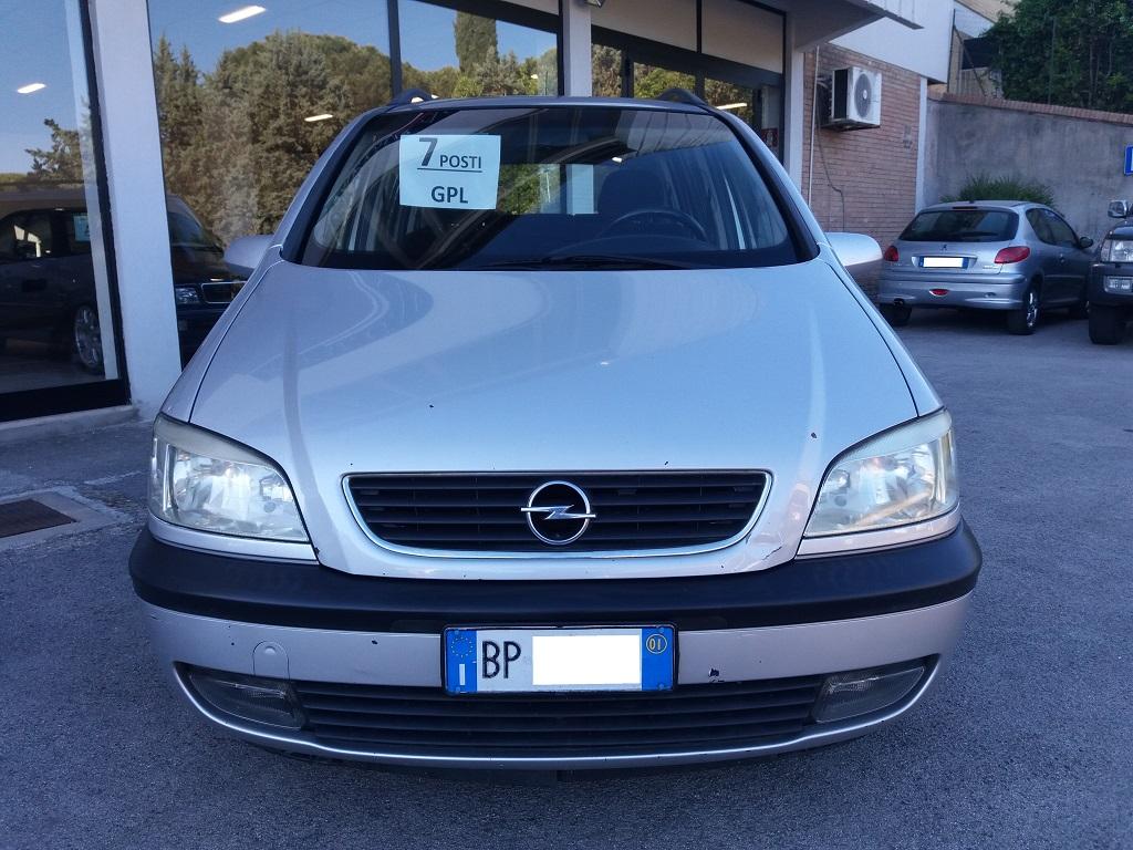 Opel Zafira 1.8 16v cat CDX GPL (8)