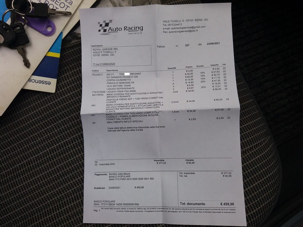 Peugeot 205 Cabriolet 1.1 CT (55)