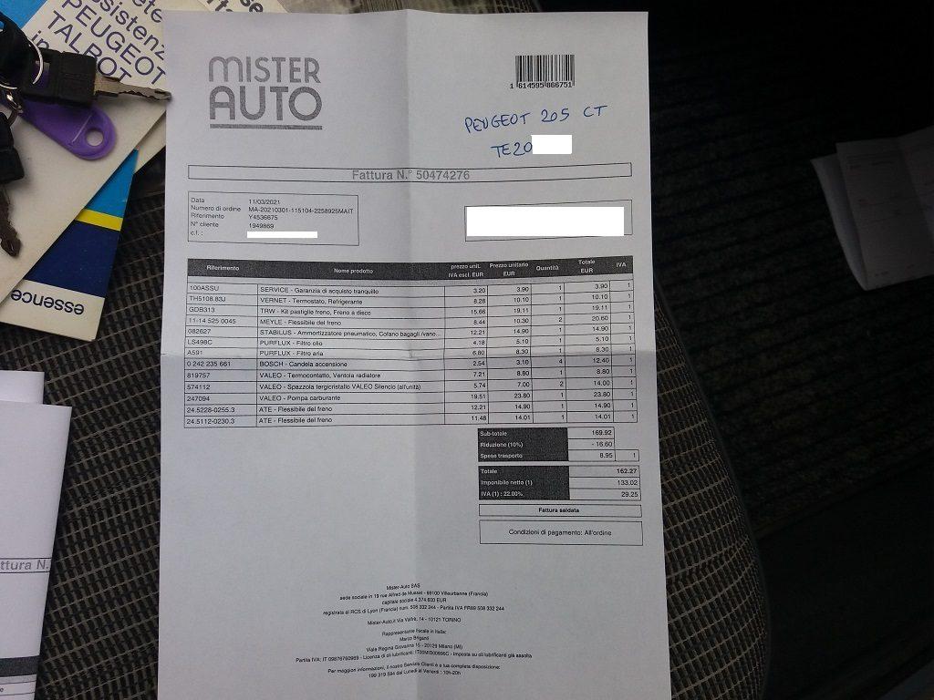 Peugeot 205 Cabriolet 1.1 CT (56)