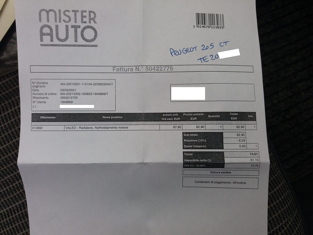 Peugeot 205 Cabriolet 1.1 CT (57)