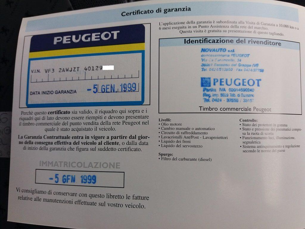 Peugeot 206 1.9 diesel 5p XTD (54)