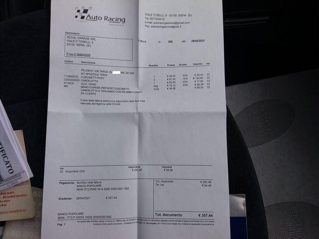 Peugeot 206 1.9 diesel 5p XTD (56)