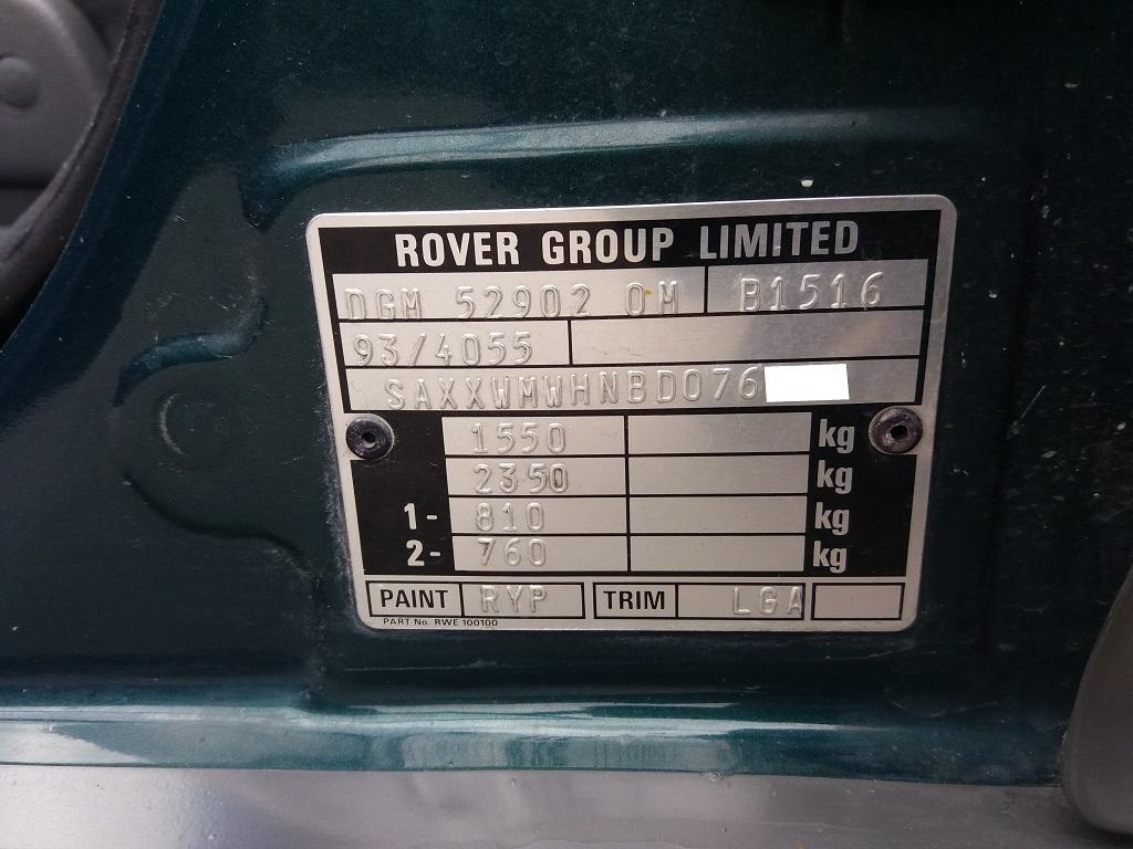 Rover 214 16v cat 5p Si (30)