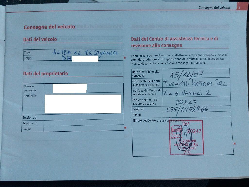 Seat Altea XL 1.6 Stylance GPL (62)
