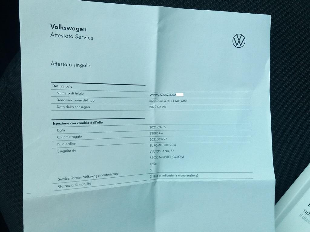 Volkswagen up! 5p 1.0 Move up! 60 cv (40)